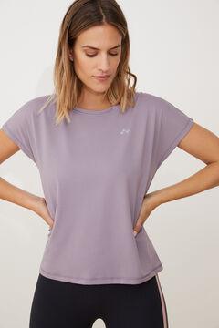 Womensecret T-shirt treino manga curta rosa