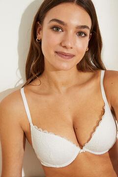 Womensecret GORGEOUS White lace push-up bra white