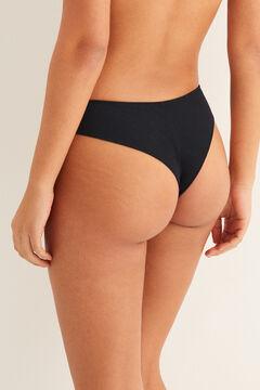 Womensecret Modal Brazilian panty black