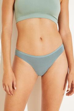 Womensecret 7-pack plain cotton panties  printed
