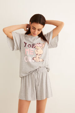 Womensecret Short Garfield pyjamas grey
