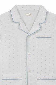 Womensecret Pijama Estampagem Estrelas branco