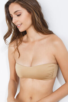 Womensecret Bandeau wireless bra nude