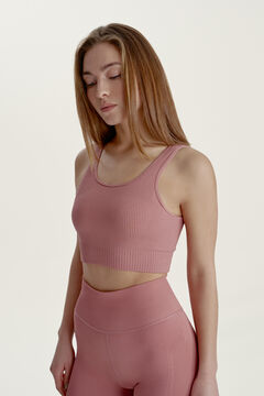 Womensecret Crop Top Niara OLD ROSE rosa