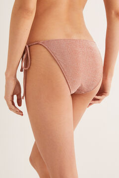 Womensecret Colour-gradient bikini bottoms pink