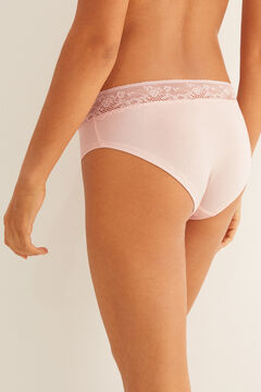 Womensecret Culotte shorty coton rose #idocare rose