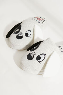 Womensecret 3D 101 Dalmatians slipper grey
