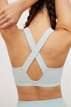 Womensecret Crossover sports bra blue