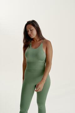Womensecret Camiseta Rena Cactus verde