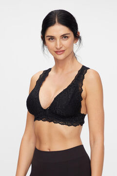 Womensecret Lace maternity bra black