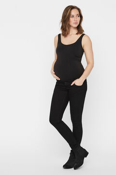 Womensecret Better Cotton black maternity jeans black