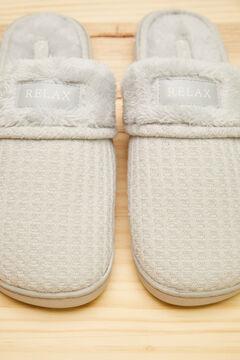 Womensecret Grey slippers grey