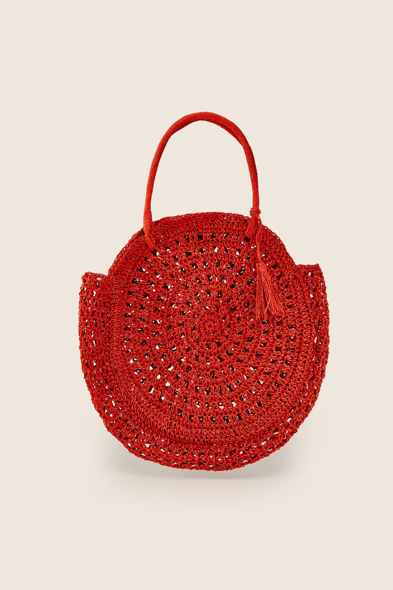 Bolso Redondo Crochet Bolsos Womensecret