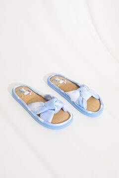 Womensecret Snoopy tye-die crossover strap and lace sandals blue