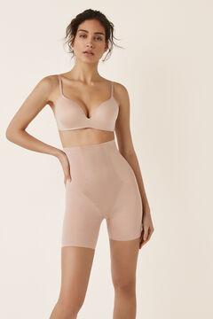 Womensecret Pantalon shape sculptant de tulle nude