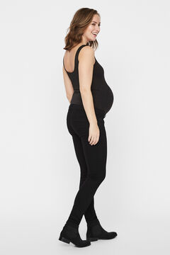 Womensecret Better Cotton black maternity jeans noir