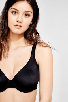 Womensecret Minimiser bra black
