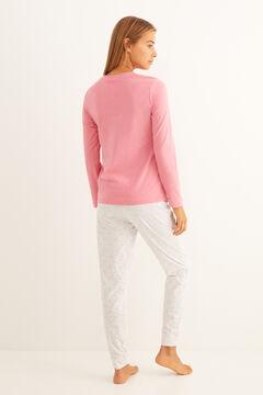 Womensecret Long polka-dot Miffy pyjamas pink