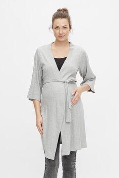 Womensecret Long maternity kimono gris
