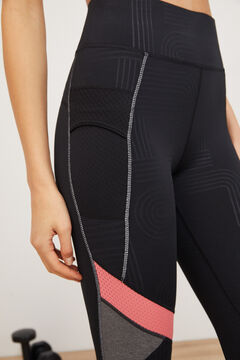 Womensecret Leggings talle alto negro