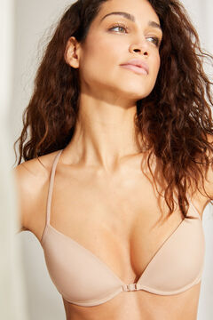 Womensecret T-back bra nude