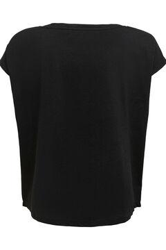 Womensecret T-shirt tricolor algodão duradouro  preto