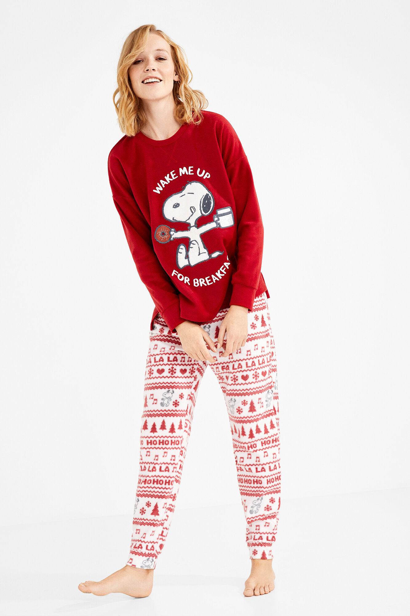 595caecf7c Pijama largo Snoopy