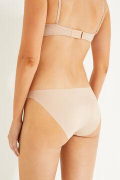 Womensecret 2 microfiber classic panties pack nude