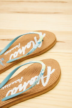 Womensecret Aloha Garfield flip-flops white