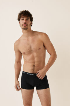 Womensecret Pack 3 boxers for man black