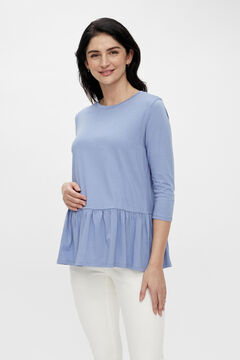 Womensecret Organic cotton maternity top blue