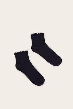 Womensecret Rövid zokni kék