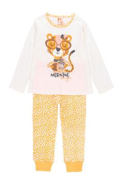 Womensecret Pijama malha para menina - orgânico branco