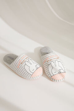 Womensecret Miffy slingback slippers grey