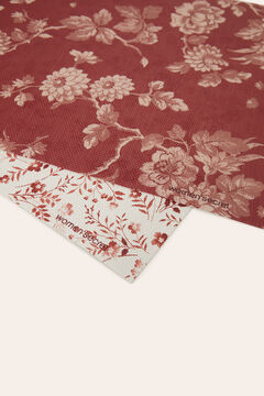 Womensecret Pack of 2 individual maroon tablecloths red
