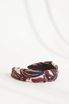 Womensecret Ethnic print knot-front headband printed