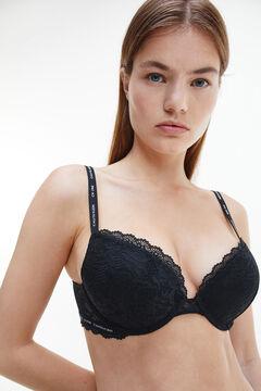 Womensecret Calvin Klein push up bra noir