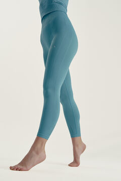 Womensecret Legging Dharma Azul Acero azul