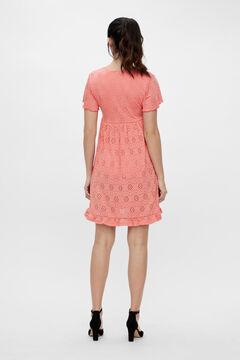 Womensecret Short maternity dress burgundy