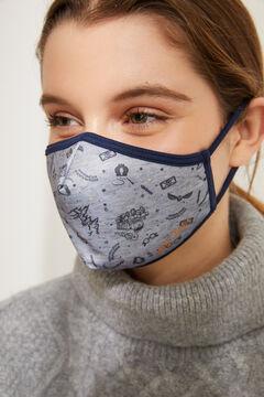 Womensecret Máscara higiénica homologada Harry Potter cinzento