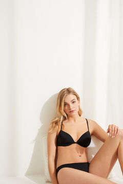 Womensecret T-back bra black