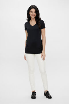 Womensecret Fitted maternity jeans white