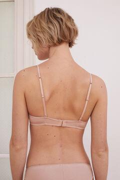 Womensecret Classic organic cotton bra nude