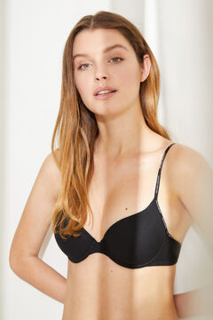 Womensecret BEAUTIFUL Sujetador clásico algodón orgánico negro
