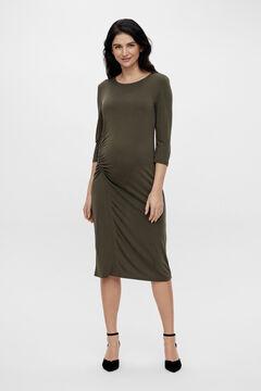 Womensecret Vestido maternity midi verde