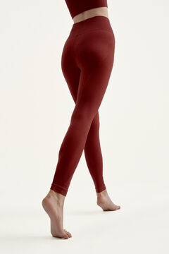 Womensecret Legging Astanga Medium Grey marrón