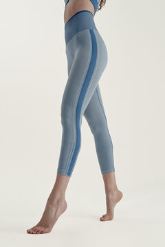 Womensecret Legging Lama French Navy/White azul