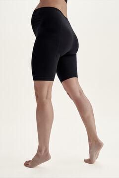 Womensecret Legging ciclista maternity Black negro
