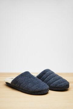 Womensecret Zapatillas azules destalonadas azul