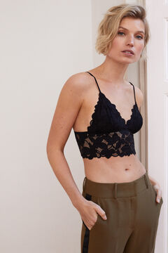 Womensecret Lace bralette black